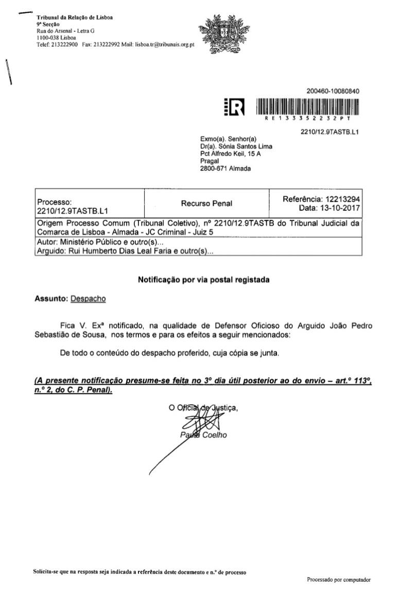 Processo - 2210 Pag. 1